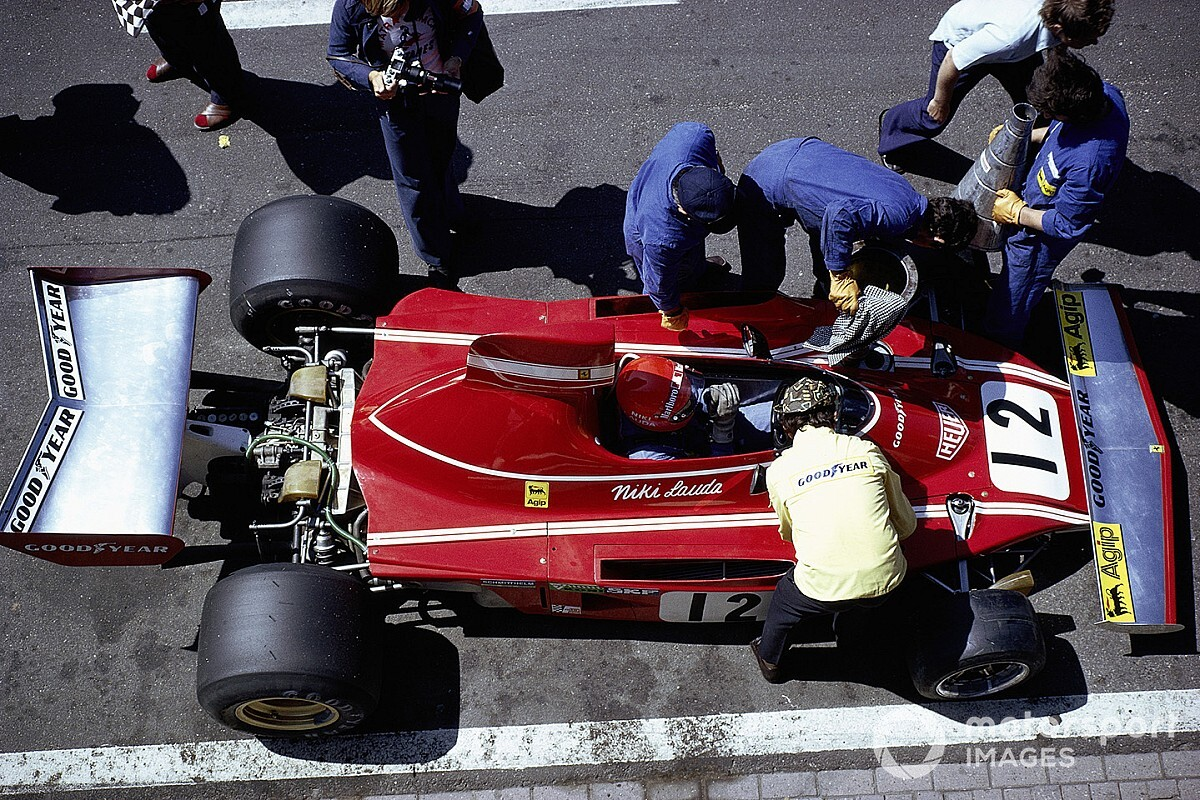 46 éve, hogy Niki Lauda először köszönt be az időmérőn