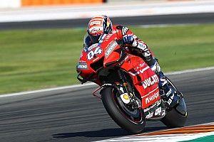 Dovizioso enthousiasmé par le nouveau châssis Ducati