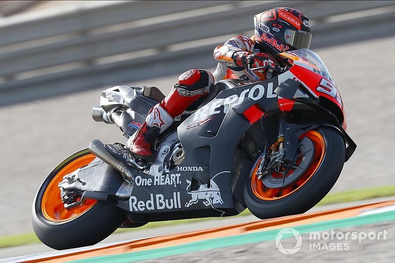 Test MotoGP Jerez, Giorno 1, Ore 15: cade Marquez, migliora Vinales