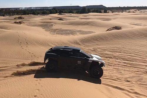 Dumas y el reto de correr el Dakar con tu propio buggy