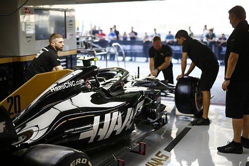 "Haas in new simulator ""rehearsal"" during Abu Dhabi GP"