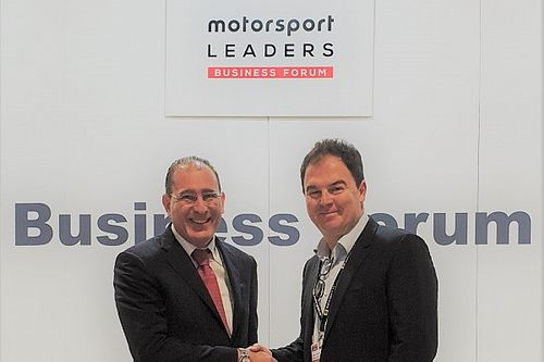 Walter Sciacca - Presente al Motorsport Leaders Business Forum