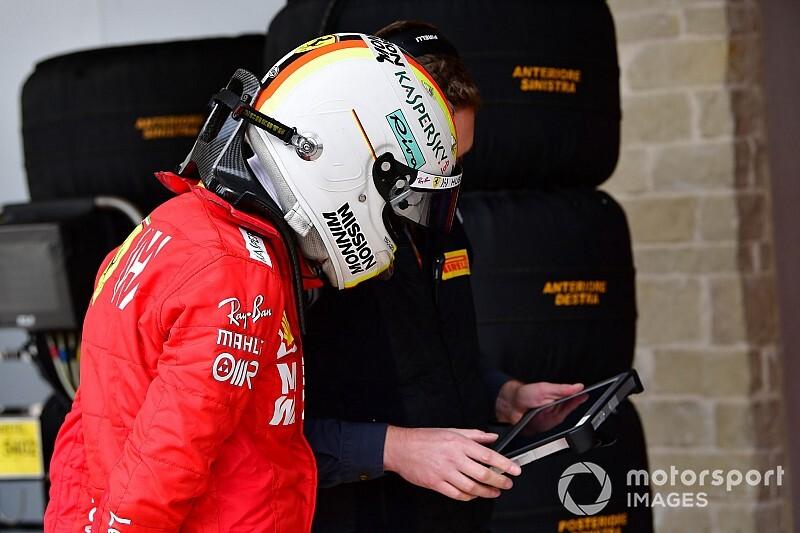 """Vettel: """"Çok tuhaftı"""""""