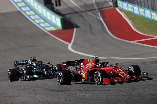 Mercedes опускает корму? Ferrari делает это годами!