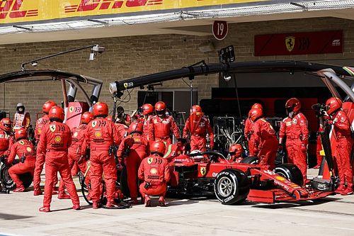 Ferrari nipt sneller dan Aston Martin voor snelste pitstop in Texas