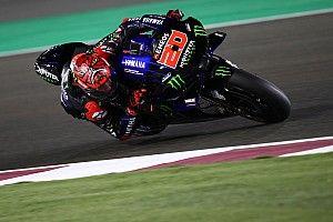 Quartararo vuela en Qatar para liderar el segundo día del test de MotoGP