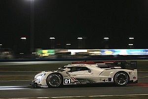 Rolex 24: Ganassi Cadillac leads night practice at Daytona