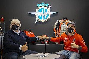 MV Agusta: Marcon sostituirà l'infortunato Corsi al GP di Doha