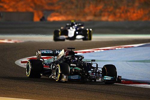 F1: Hamilton reclama de vento, pneus e estabilidade, mas mantém otimismo