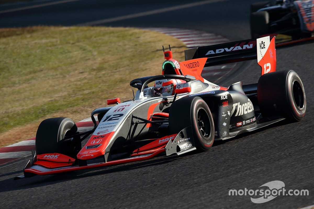 "Calderon ""getting closer"" to first Super Formula points"