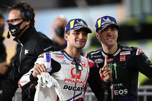 """MotoGP: Viñales não tinha dúvidas que Martin """"iria rápido""""no Catar"""
