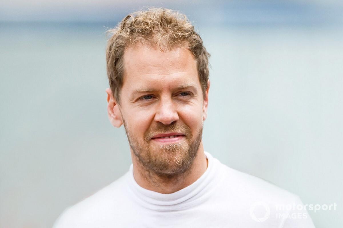 Vettel, Aston Martin ile 1.5 gün test yapmaktan sıkıntı duymuyor