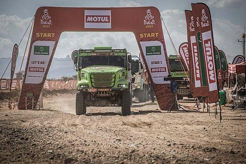 Debutant Van Groningen vervolgt de Dakar voor spek en bonen
