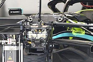 El Mercedes de Bottas, el primero bajo la nueva verificación FIA
