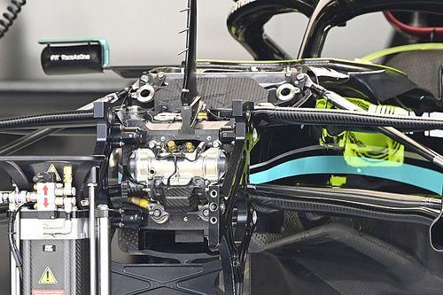 FIA Bongkar Suspensi Mercedes W12 Milik Bottas
