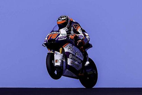 Albert Arenas se estrena con la Moto2