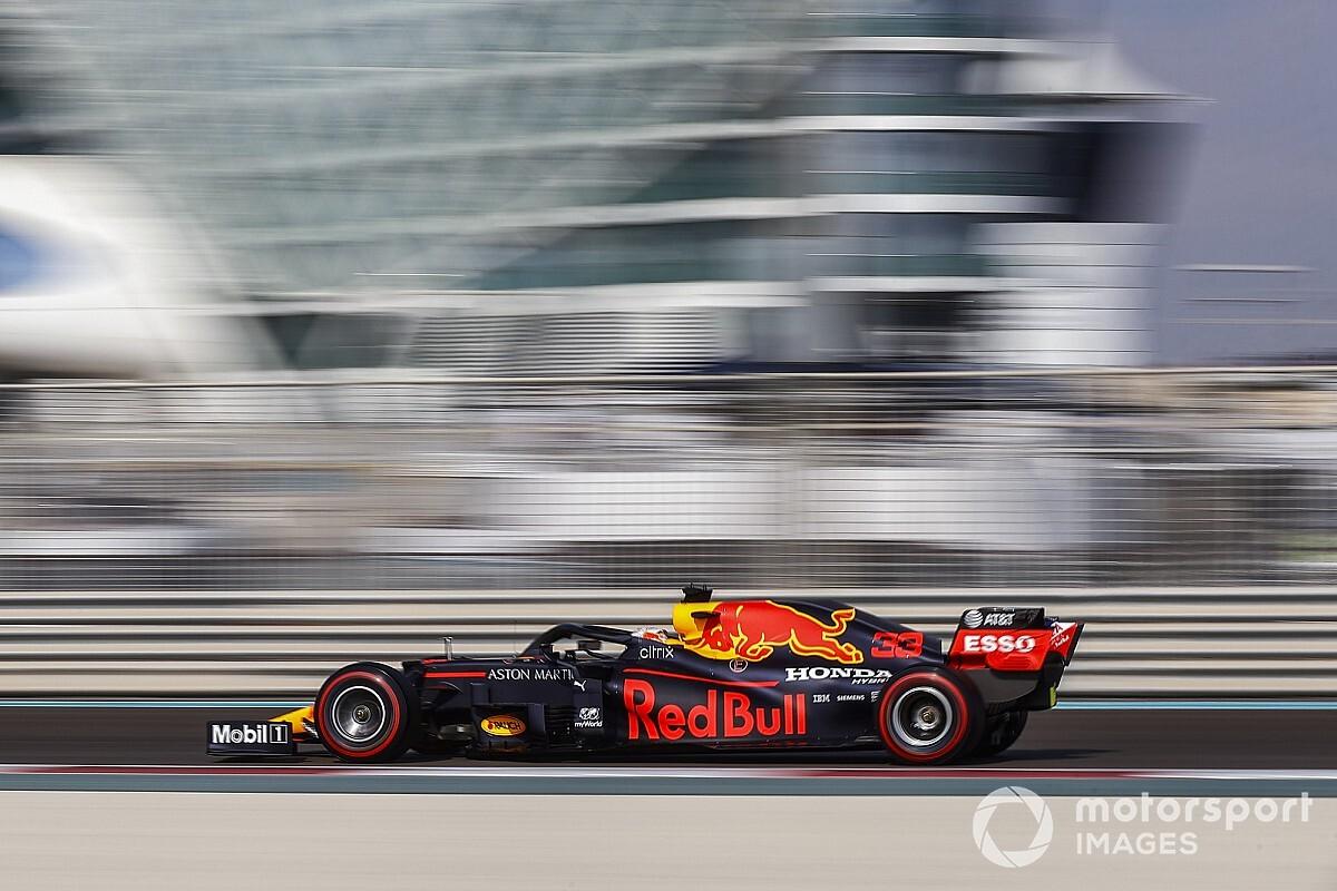 F1アブダビFP3:レッドブルがワンツー。フェルスタッペンは2番手以下に0.5秒差つける