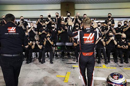Így búcsúzik a Haas Grosjeantól és Magnussentől - VIDEÓ