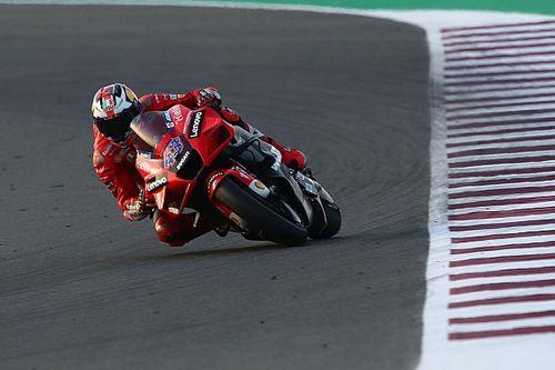 Un nouveau carénage sur la Ducati pour progresser sur l'angle?