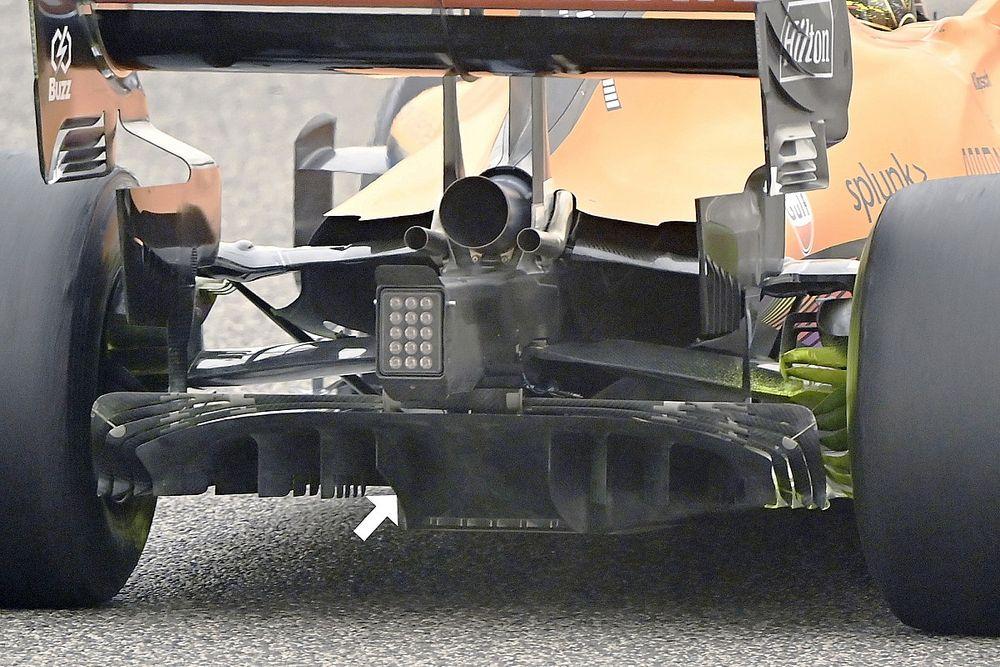 Onthuld: De slimme truc waarmee McLaren de diffuser optimaliseert