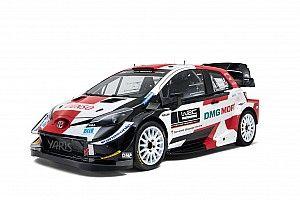 Toyota, 2021 WRC renk düzenini tanıttı
