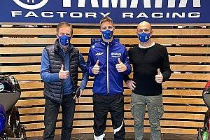 Primer contacto de Quartararo con el equipo oficial Yamaha