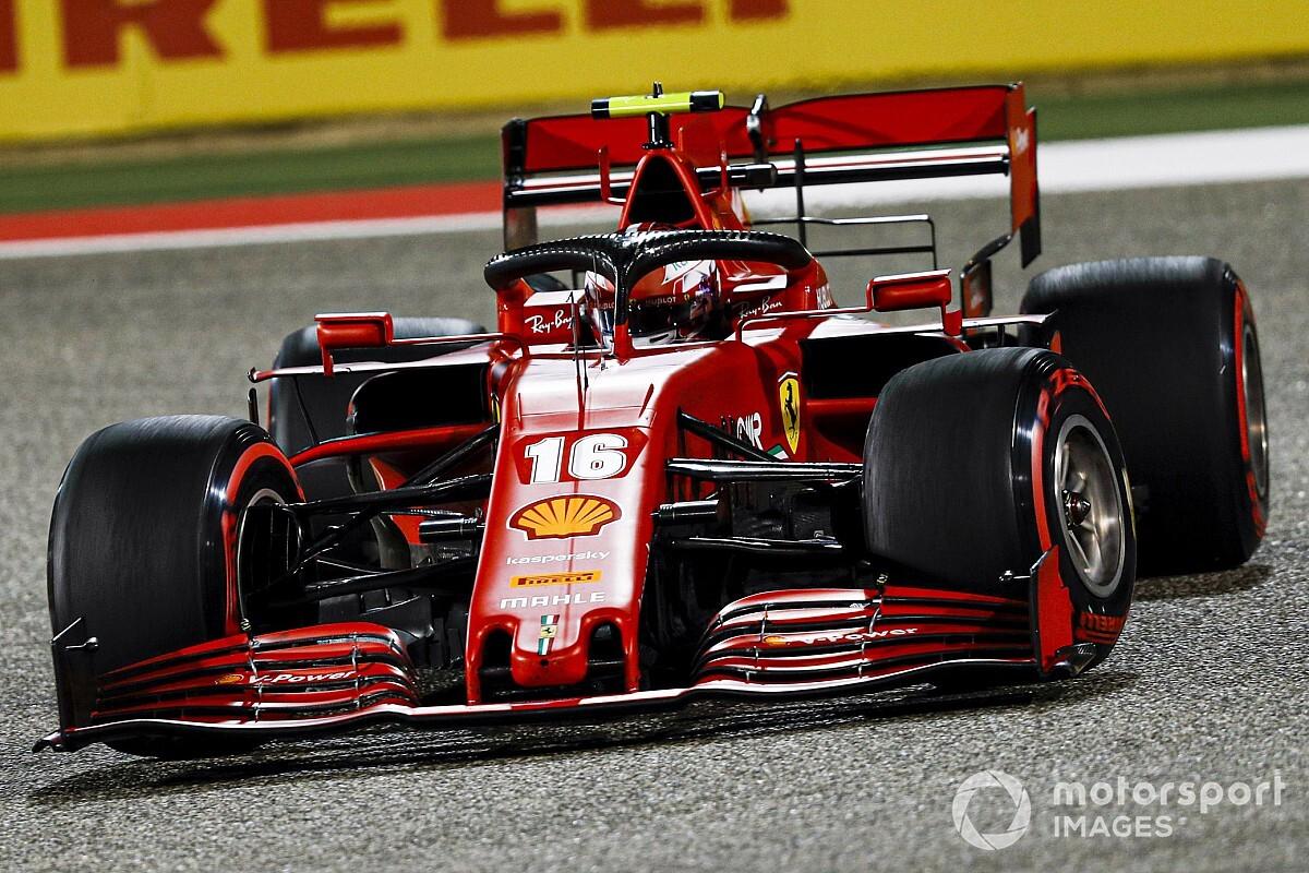 Leclerc: Olyan későn fékeztem, amennyire csak tudtam!