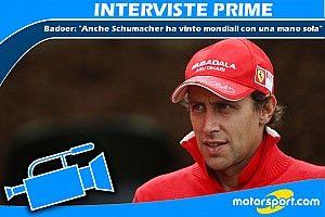 "Badoer: ""Anche Schumacher ha vinto mondiali con una mano sola"""