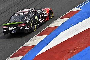 Kurt Busch edges Allmendinger for inaugural pole at Charlotte Roval