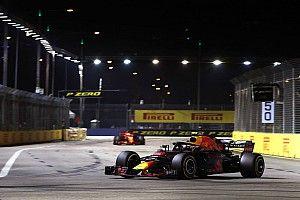 """Verstappen sai """"feliz"""" de Singapura após problemas com motor"""