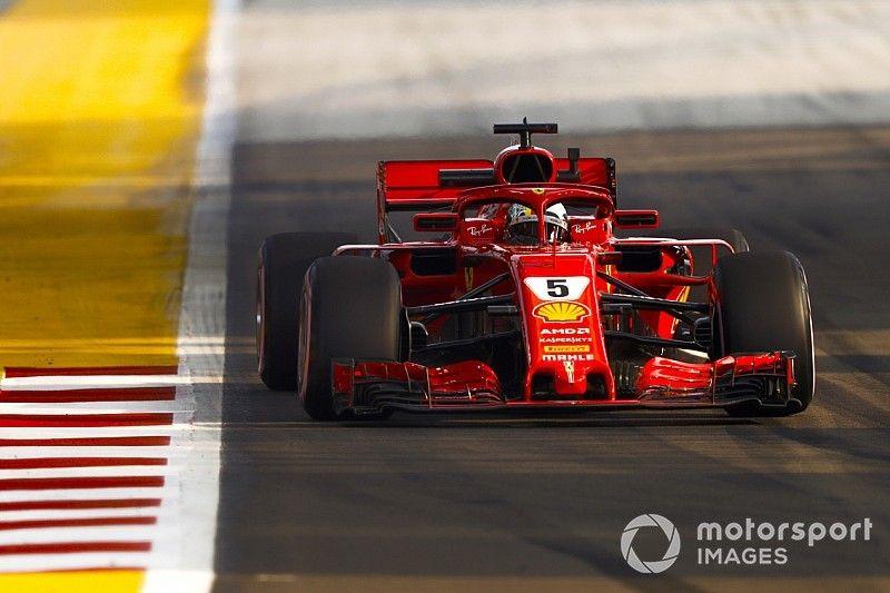 Singapore, Libere 3: Vettel scaccia la paura e batte il record della pista