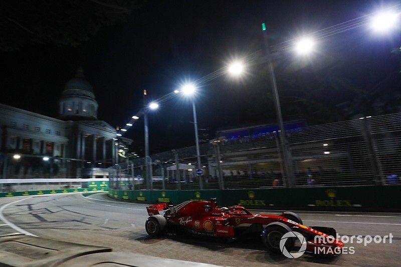 Vettel le restó importancia al tiempo perdido tras golpear el muro