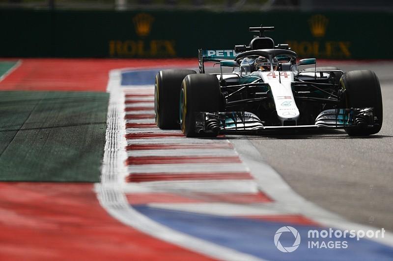 Hamilton lidera novo domínio da Mercedes no TL3 na Rússia