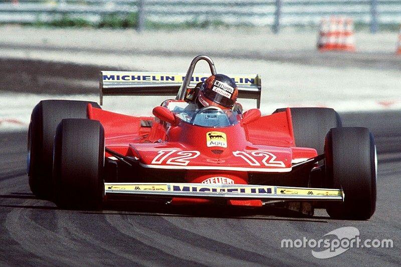 La carrera en F1 de Gilles Villeneuve en 70 fotos