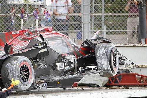 Bruno Senna bokatörést szenvedett Silverstone-ban