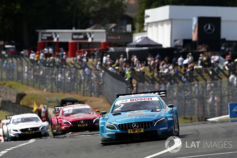 DTM Brands Hatch 2018: Paffett führt Mercedes-Trio im Qualifying an