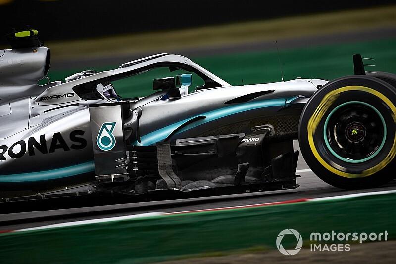 Bottas y Mercedes lideran una PL2 en Japón que puede ser clave