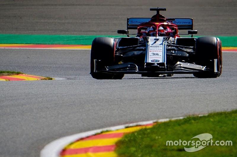 """Raikkonen, yarışa """"daha güvenli"""" lider grupta başlayacağı için mutlu"""
