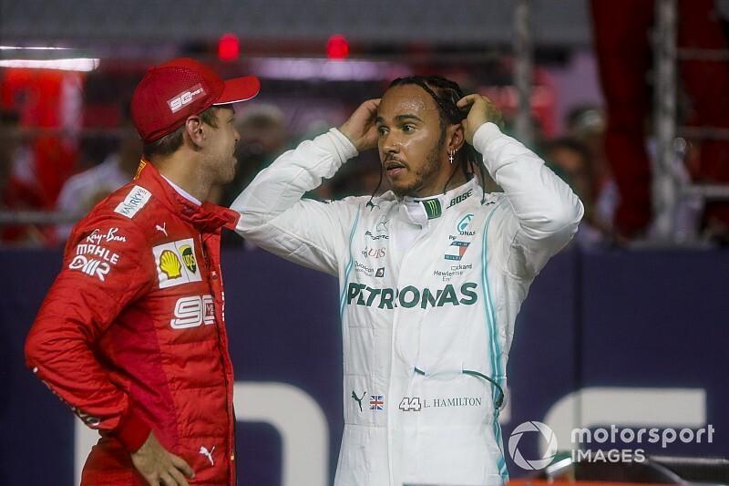 """Vettel y Hamilton, contra las parrillas invertidas: """"Son una estupidez"""""""