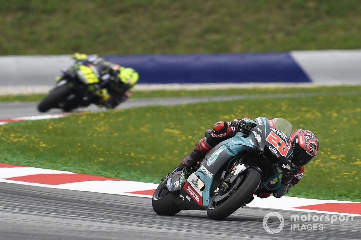 "Quartararo ""impatient"" after surprise Austria podium"