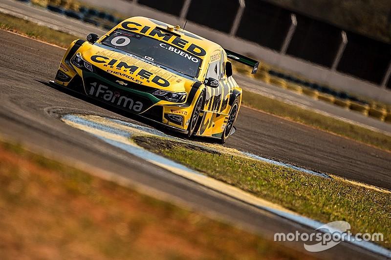 Feliz com 2ª fila, Cacá culpa sujeira na pista por não ter brigado pela pole em Campo Grande