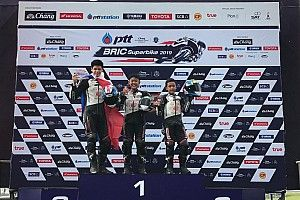 Dheyo-Dandi kuasai podium Thailand Talent Cup