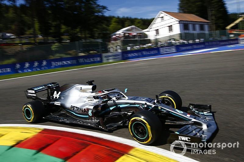 """Hamilton se assusta com desempenho da Ferrari na Bélgica: """"parece terrível"""""""