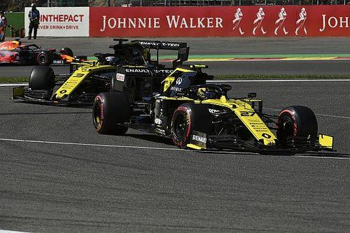 Les pilotes Renault reviennent à l'ancien moteur