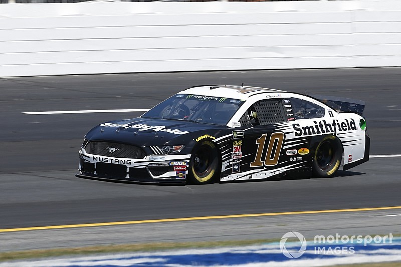 Almirola holds off Logano for Stage 2 win at New Hampshire