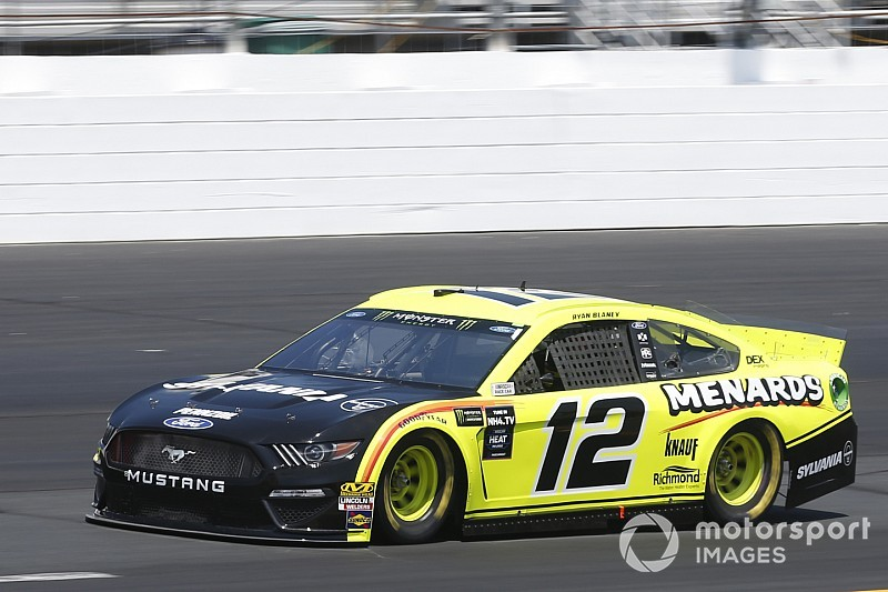 Blaney fastest in final Cup practice; Bowman wrecks backup car