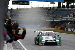 Assen DTM: Wittmann sees off Audi threat in wet race