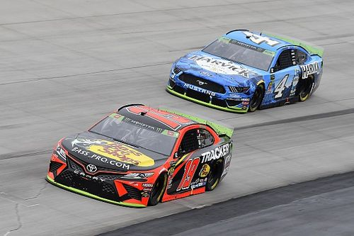 """Harvick: """"We still have to beat the Gibbs cars"""" for title shot"""