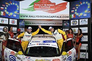 Suzuki Rally Cup: Scalzotto e Cazzador trionfano al rally di Roma