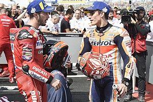 Dovizioso se olvida de Márquez y se centra en sus resultados